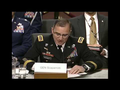 Eucom Commander Testifies at SASC Hearing