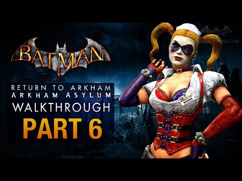Batman: Return to Arkham Asylum Walkthrough - Part 6 - The Penitentiary (Harley Quinn)