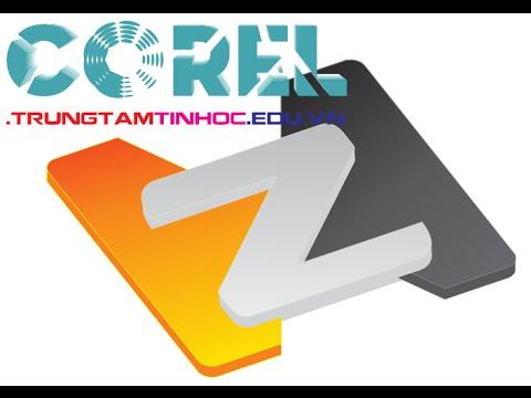 Vẽ hình logo 3D đơn giản trong Corel