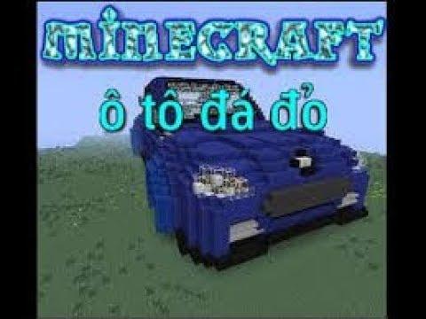 Cách ?? làm m?t chi?c xe ?i ???c trong minecraft