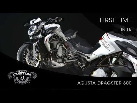 2014 Mv Agusta Dragster 800 First Time | Sri Lanka