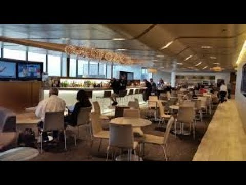 United Club Lounge. Chicago O'Hare Terminal 2 Club Review