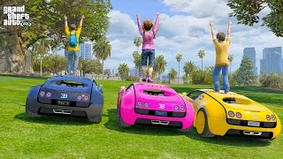 OUR NEW BUGATTI RC SUPER CARS! (GTA 5 Mods For Kids)