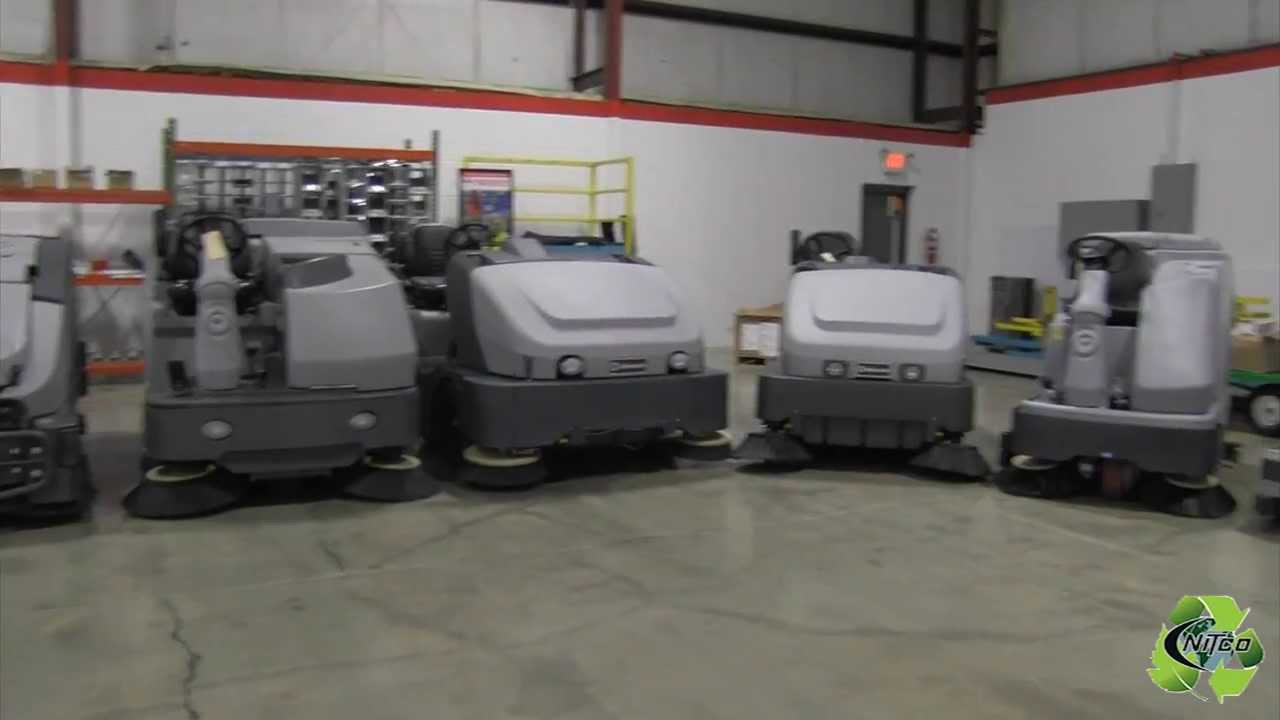 Elegant Used Floor Scrubbers CT, Rental Floor Scrubber, Industrial Sweepers For  Sale In Western MA   YouTube