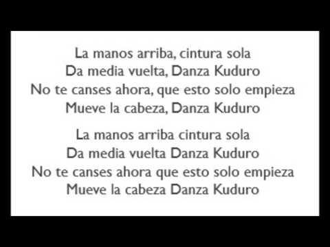 Danza Kuduro  Don Omar Lyrics