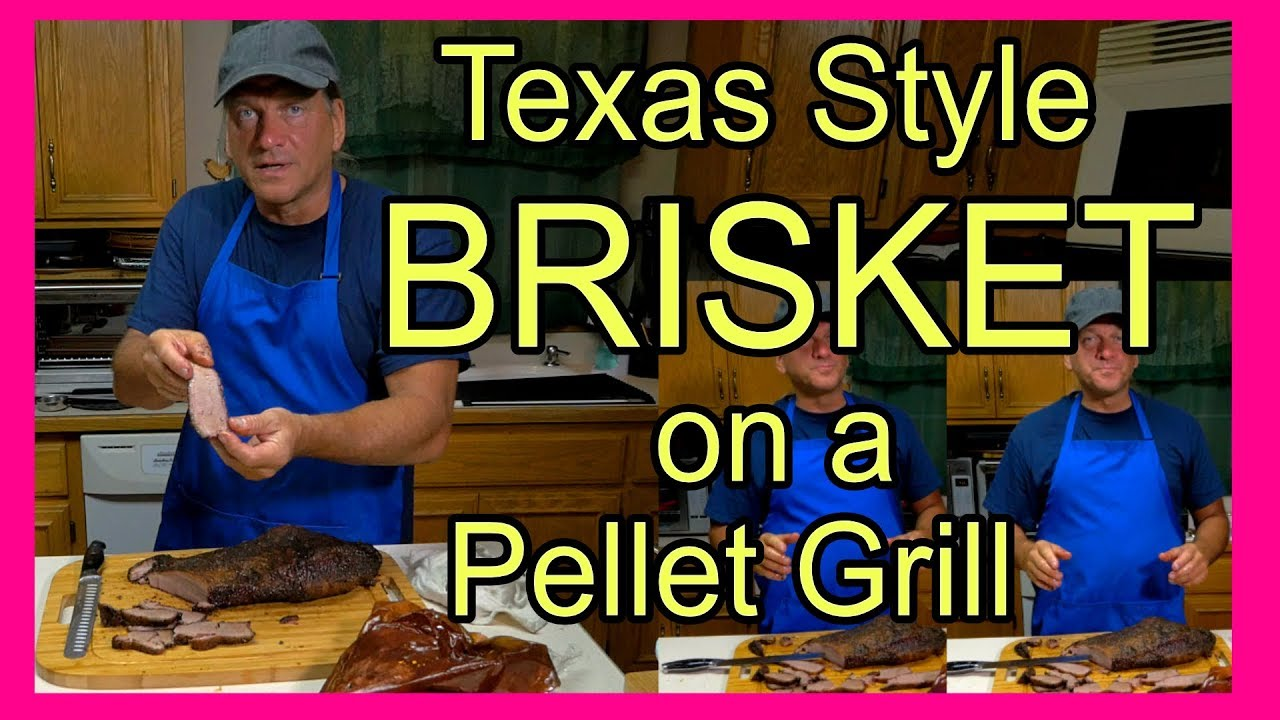 Texas Style Brisket on a Pellet Grill - How to Make Smoked ...