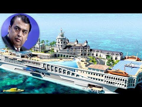 বিশ্বের সবচেয়ে দামী ইয়ট তৈরী করল মুকেশ আম্বানী । Expensive latest Mukesh ambani yacht
