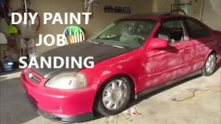 Budget DIY Paint Job - Part 1