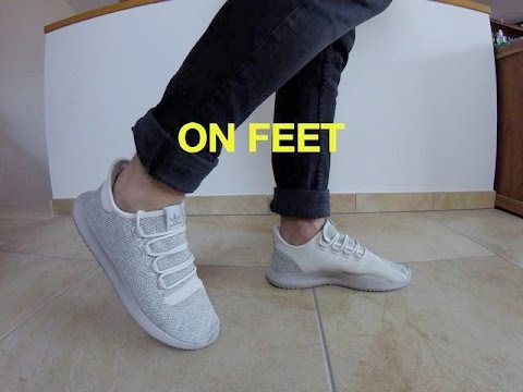 Adidas Tubular Shadow Knit On Foot