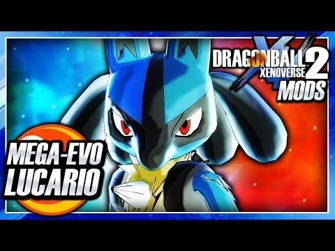 Dragon Ball Xenoverse 2 PC: Lucario DLC (Mega Lucario & Super Saiyan Transformation) Mod Gameplay