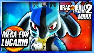 Dragon Ball Xenoverse 2 PC: Lucario DLC (Mega Lucario & Super Saiyan Transformation) Mod Gameplay