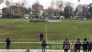 U16 - 2018_12_2   Venezia Rugby Vs Checco CSP Rugby