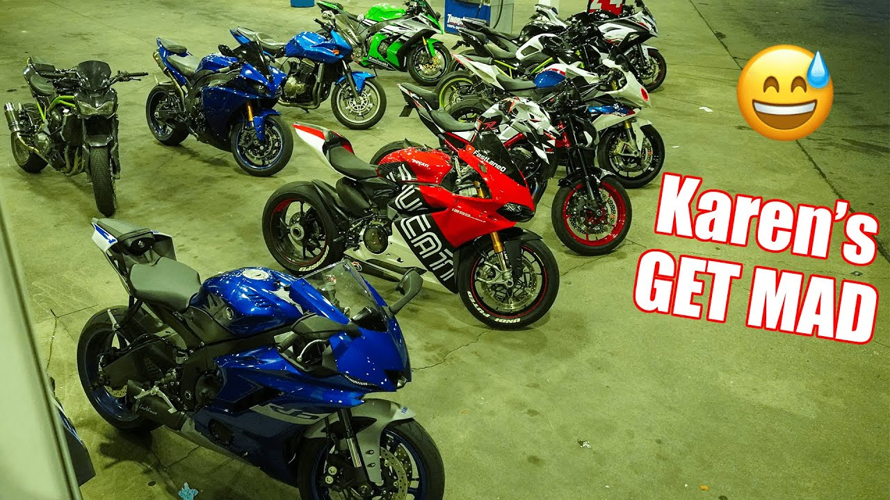 Download What Bikers do BEFORE Car Meets | Yamaha R1, R6, Ducati 1299 Panigale, Kawasaki Z1000