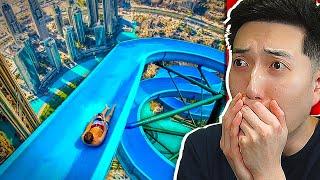 Most DANGEROUS Water Slides You WON'T Believe Exists!
