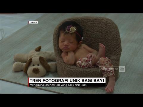 Tren Fotografi Unik Bagi Bayi