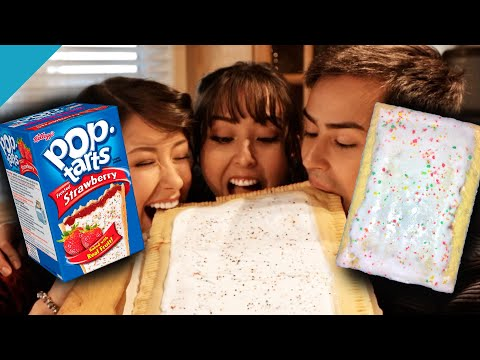 HOW TO MAKE A GIANT POP TART *homemade*