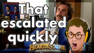 Hearthstone - Well, that escalated quickly!