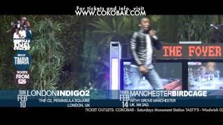 OMG BOVI TURNED GAY - African Kings of Comedy - Valentine 2013 Tkts wwwcokobarcom
