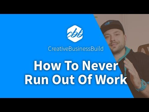 How to never run out of freelance projects