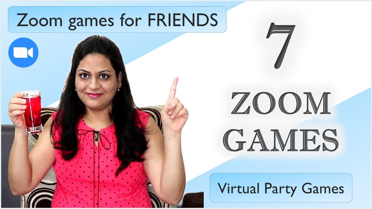 7 Zoom Games To Play With Friends Online Games To Play With Friends Zoom Games Virtual Party Youtube