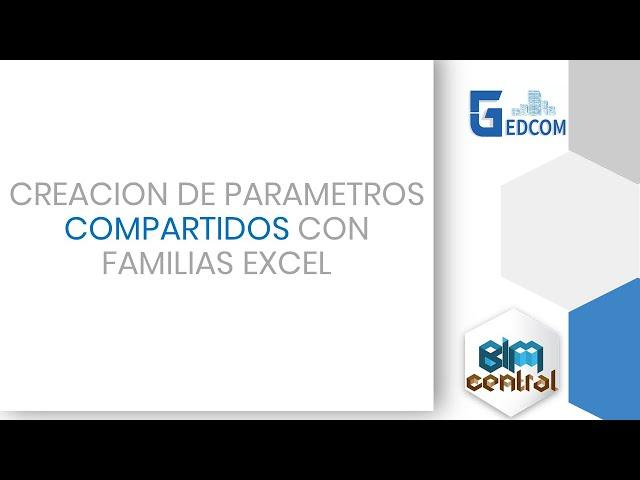 Como crear parámetros compartidos en varias familias de Revit con Dynamo