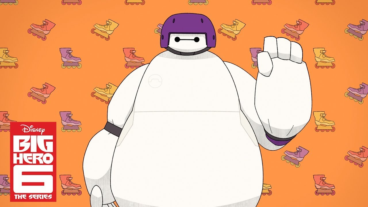 Baymax And Gogo baymax and go go (short) | big hero 6 the series | disney channel
