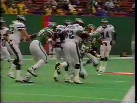 1996 Eagles at New York Jets clip1