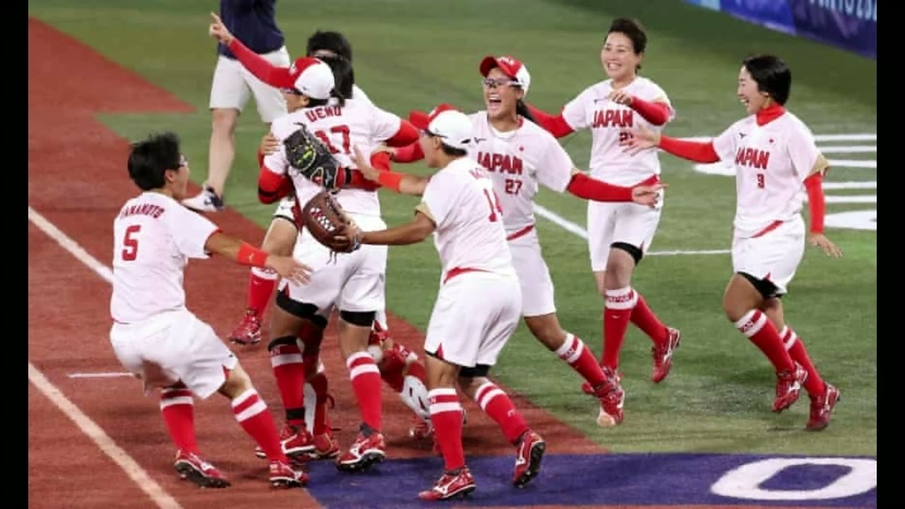 Jubilant Japan retain Olympic softball title as USA settle for silver