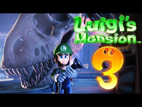 Bosskampf im Museum!   Luigis Mansion 3 (Part 11) - Zombey
