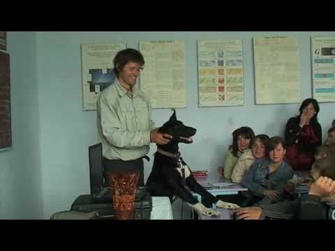 SCHOOL VISIT IN UKRAINE
