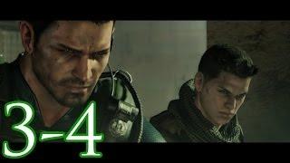 Resident Evil 6 - Campaña de Chris y Piers - Capítulo 3 - Parte 4