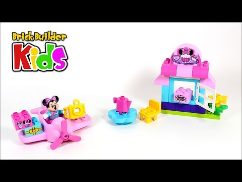 Lego Duplo 10830 Minnies Caf Lego Speed Build For Kids Youtube