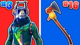 Ranking ALL Season 6 Skins, Back-Blings, Gliders & Pickaxes! (Fortnite)