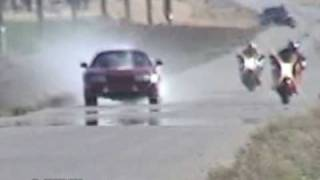 supra blows up motor in roll on race vs suzuki hayabusa kings of the street busa vs toyota