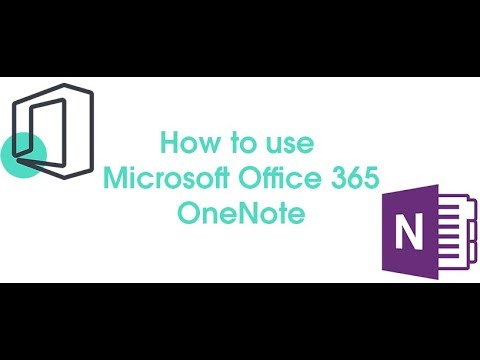 Video - How to use Microsoft Office 365: OneNote - ramsac