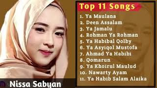 FULL ALBUM  NISSA SABYAN TERBARU 2018  Cocok buat lagu pernikahan islami
