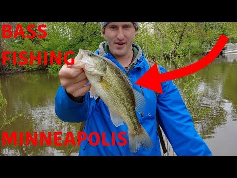 FISHING - MINNEAPOLIS And ST. PAUL, MINNESOTA (Bass And Pike)