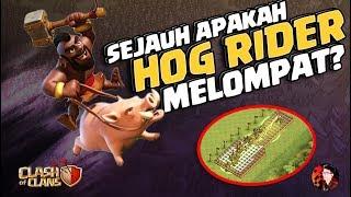 Sejauh Apa Hog Rider Melompat? - Clash of Clans
