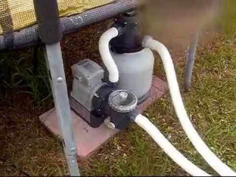 Summer Wave Pool Pump Upgrade To Intex Sand Filter Pump
