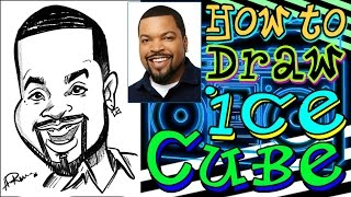 How To Draw A Quick Caricature Ice Cube