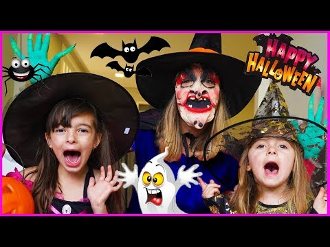 LAURINHA AND HELENA AND THE HALLOWEEN SURPRISE 🎃 Halloween with spiders from YouTube · Duration:  11 minutes 33 seconds