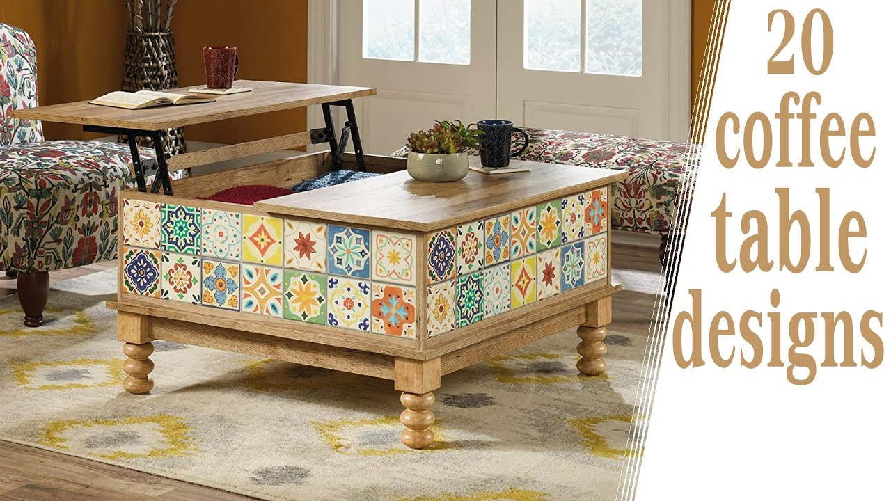 20 Coffee Table Designs For Living Room | Interior ...