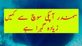 Ocean is So Much Deeper Then You Think | Hindi / Urdu