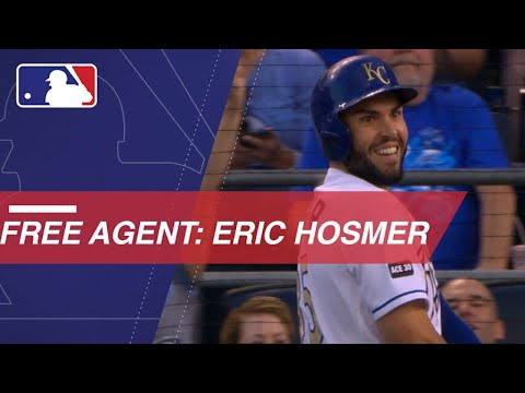 Eric Hosmer available on the free agent market