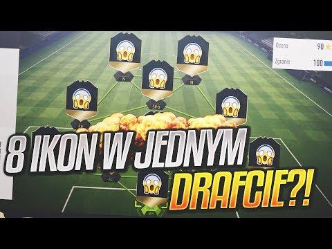🔥😱 8 IKON W JEDNYM DRAFCIE? 😱🔥   FIFA 18 Prawda czy Fałsz?