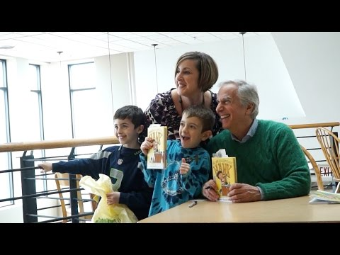 "Henry Winkler Book Revue Event ""You Can't Drink A Meatball Through a Straw"""