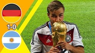 نار نار نار 🔥🔥🔥 ألمانيا ~ الأرجنتين 1-0 نهائي كاس العالم 2014 وجنون رؤوف خليف جودة عالية 1080i