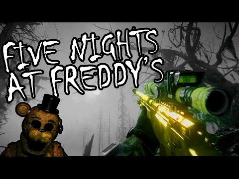 GUN SYNC - Five Nights at Freddy's Song!
