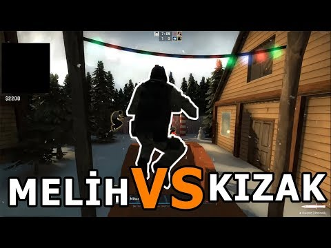 Melih VS Kızak [Funny Moments] #1 (Cyberrulz Tv)