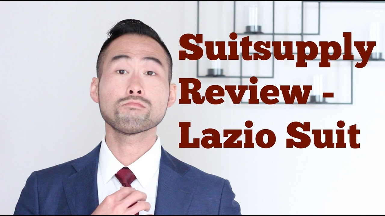 Suitsupply Review and Unboxing Lazio Cut - Dressing For The Career You Want